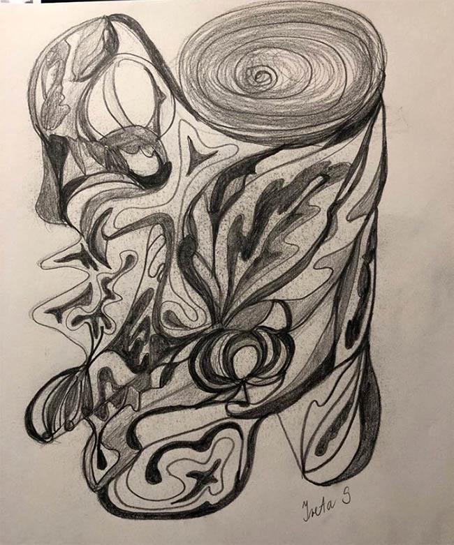 Workshop Arteterapia - automatická kresba